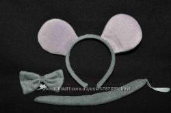 Маска мышки, карнавальная