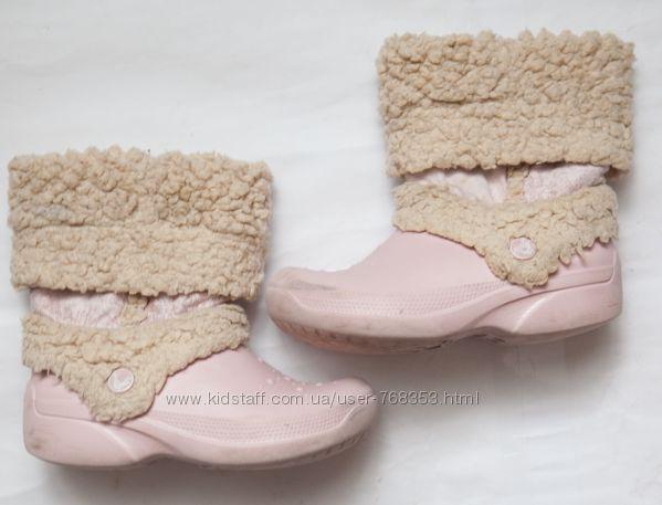 Резиновые сапоги для девочки 7- 9 лет