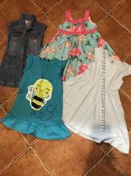 Продам наши платья 104-110