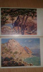 Набор старинных открыток Крым