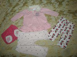 набор одежды для малышки от 0 до 3 мес