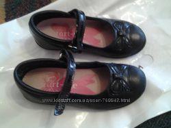 Кожаные туфельки состояние ношенное р. 27 Start -rite