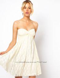 Нежное гипюровое платье ASOS