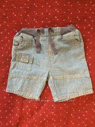 Джинсовые шорты для мальчика Mothercare