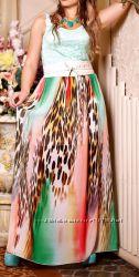 Шикарное платье в пол от ТМ Medini