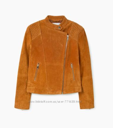 Новая замшевая куртка фирмы Mango размер XS-S