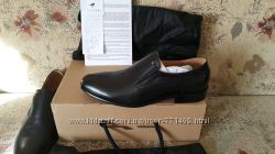 L. Carvari крутые кожанные туфли 27. 5 см