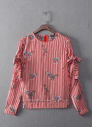 Блузка Zara с потрясающим принтом