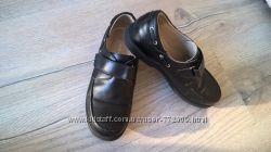 Школьные кожаные туфли Каприз для мальчика 33р 22см