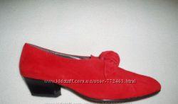 Модные туфли замша Италия 36р как у блогеров новые