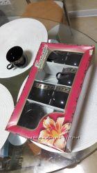 Новые чайный и кофейный сервизы на 6 персон сахарница
