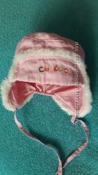 Демисезонные брендовые шапка шапочка Chicco Mothercare