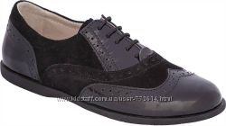 Демисезонные кожаные туфли для мальчика 31-35р TM Lapsi