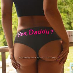 спортивные Трусики, трусы для женщин yes daddy