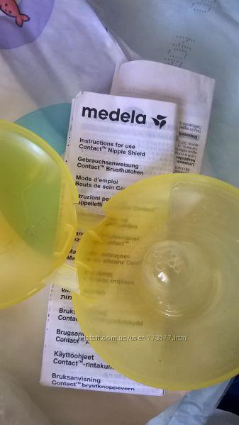 Силиконовые накладки на грудь Medela L 24 мм