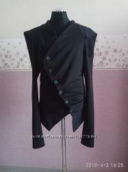 Трикотажный пиджак на девочку