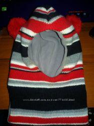 Зимний шлем на флисе на ОГ 49 - 52