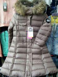Новинка 2019г, Зимнее пальто для девочки Kiko 4930 р. 134-164