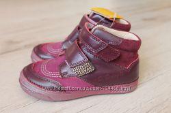 Ботинки кожаные на девочку 25, 26, 30р D. D. step дд степ 040-22 ортопед