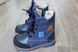 Ботинки зимние кожа р20-25 Берегиня