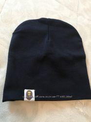 Хлопковая двойная шапочка на 1-3 года новая