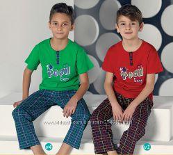 Летняя пижама для мальчика от 1 до 7 лет