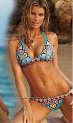 Купальник Victorias Secret с орнаментным принтом размер L
