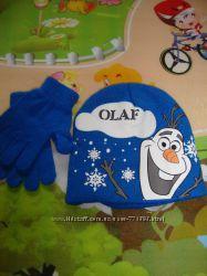 шапочка Disney 4-8 года и рукавички