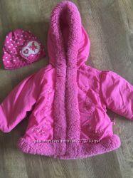 Осенняя курточка Okie-Dokie на девочку 1, 5 года