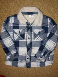 рубашка меховушка F&F