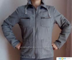 Куртка на флисе деним женская 46 GEGRGE