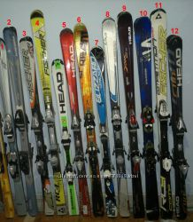 Лыжи горные слалом 149-178см Fischer Atomic Head Blizzard Salomon
