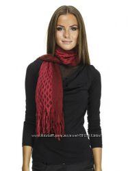 Стильный шарф с бахромой Delica