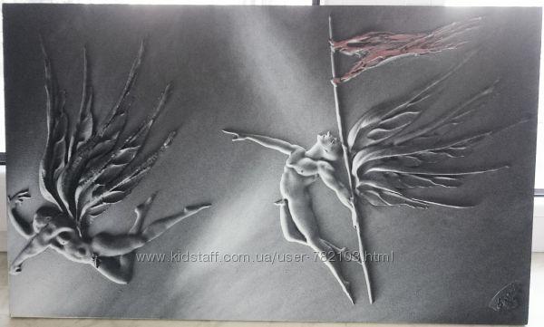 Картина Ангелы 3D.