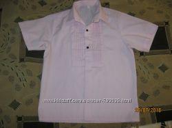 Оригинальная тенниска. рубашка для школы на мальчика 6-7 лет, 116р