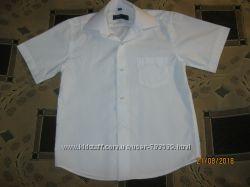 Отличная белая рубашка, тенниска Bagin на мальчика , 122-128