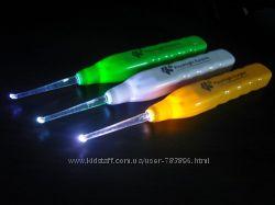 Инструмент для чистки ушей с подсветкой