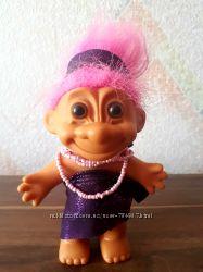 Кукла тролль винтаж