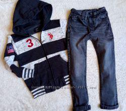 Стильные джинсики скинни NEXT в состоянии новых