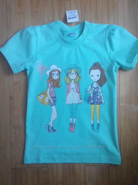 Стильная футболка Подруги мятного цвета распродажа