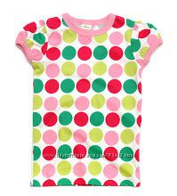 Яркая классная футболка горошек, Германия распродажа