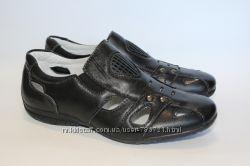 Туфли школьные для мальчика. Натур. кожа, Турция, рр. 36, 37, 38