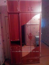 Шкаф для прихожей зеркальный, впишется в любой интерьер