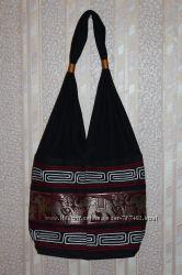 Стильная сумка - мешок с колокольчиками