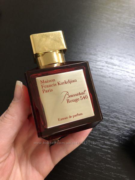 Maison Francis Kurkdjian Baccarat Rouge Extrait 540 распив