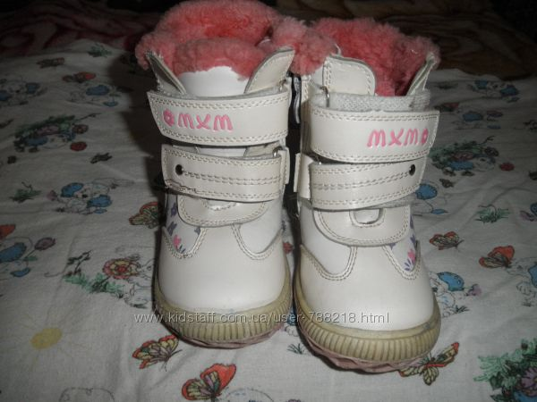 зимние сапожки для дочки