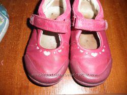 обувь кожаная для девочки