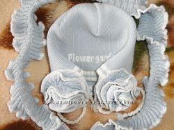 очень красивая шапуля с шарфом
