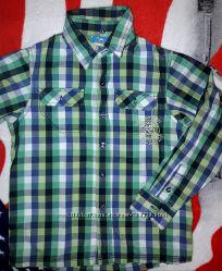 Детская рубашка для мальчика фирмы Topolino