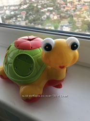 Ігрушка Черепаха каталка, сортер Kiddieland